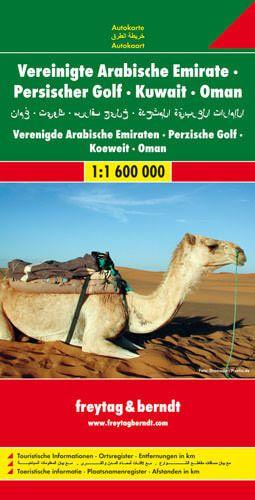 Vereinigte Arabische Emirate, Straßenkarte 1:1.600.000, Freytag und Berndt