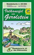 Vulkaneifel um Gerolstein Wanderkarte 1:25.000 Eifelvereinskarte Bl. 19