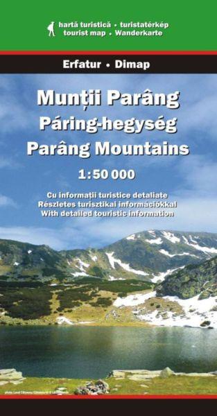 Karpaten Wanderkarte: Muntii Parang / Parang-Gebirge, Dimap