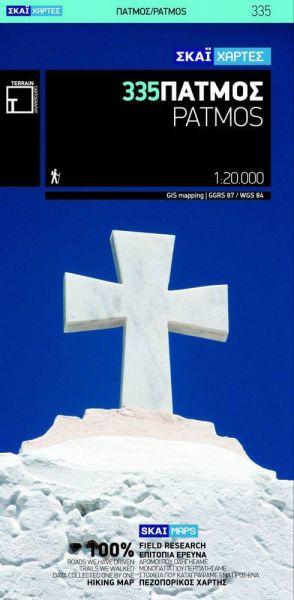 Patmos Wanderkarte 1:20.000 - Griechenland Terrain Maps 335