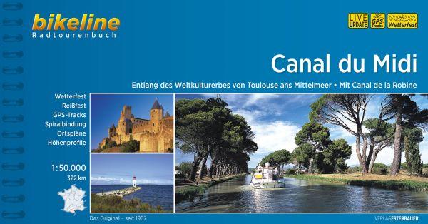 Canal du Midi Bikeline Radtourenbuch, Esterbauer