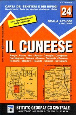 IGC 24 - Wanderkarte für Il Cuneese 1:75.000