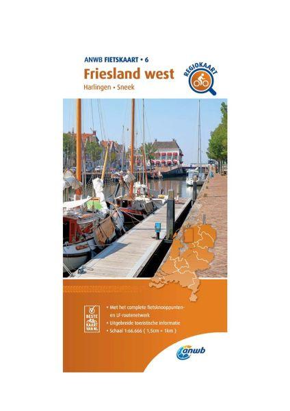 Friesland West Radkarte 1:66.666, ANWB Bl. 06