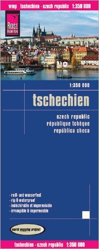 Tschechien Landkarte 1:350.000, Reise Know-How