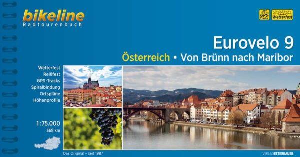 Eurovelo 9 (Österreich) Bikeline Radtourenbuch, Esterbauer