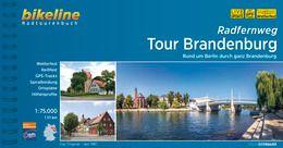 Tour Brandenburg, Bikeline Radwanderführer mit Karte, Esterbauer