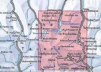 DAV Alpenvereinskarte 40 Glocknergruppe, Wander- und Skitourenkarte 1:25.000