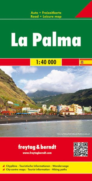 La Palma, Landkarte 1:40.000, Freytag und Berndt