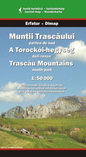Karpaten Wanderkarte: Muntii Trascaului / Trascau-Gebirge Süd