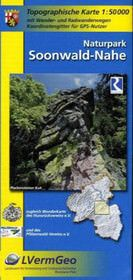 Naturpark Soonwald-Nahe mit Soonwaldsteig, Wander- und Radkarte 1:50.000