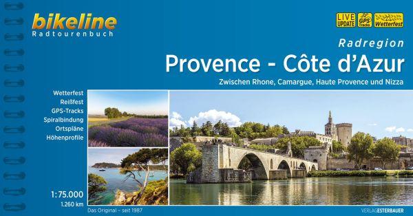 Provence, Bikeline Radwanderführer mit Karte, Esterbauer