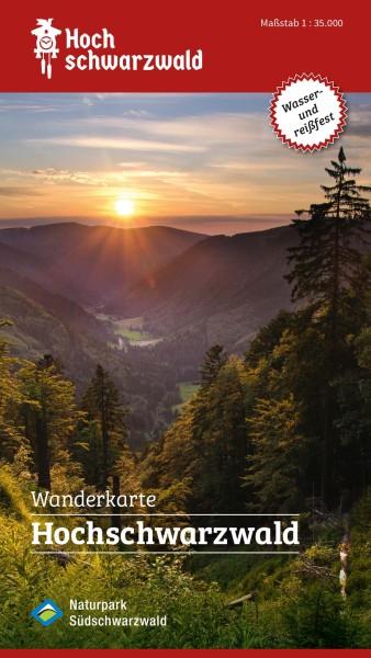 Hochschwarzwald Wanderkarte 1:35.000 – Bl. 615 von Ruppenthal