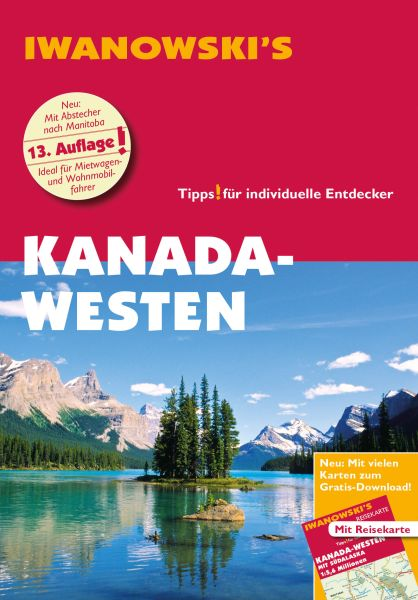 Iwanowski Reiseführer Kanada – Westen mit Südalaska