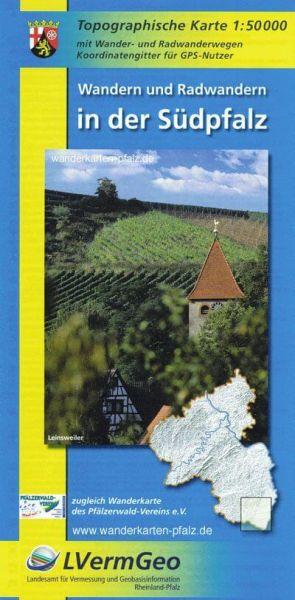 Südpfalz Wanderkarte / Radkarte 1:50.000