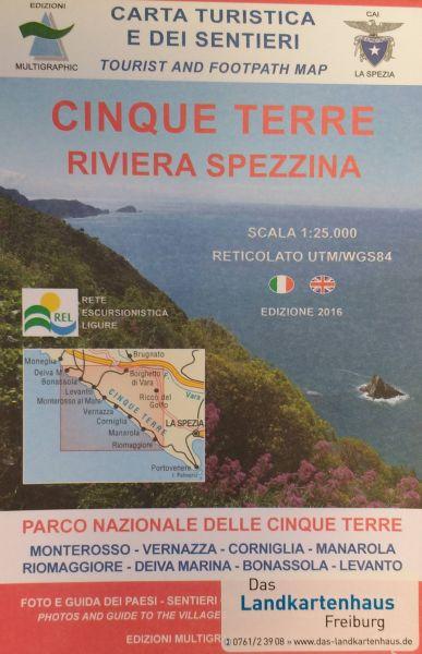 Edition Multigraphic 506, Cinque Terre; 1:25.000