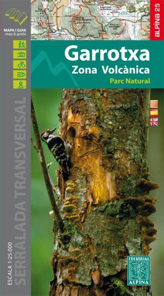 Zona Volcanica de la Garrotxa Wanderkarte 1:25.000 - Editorial Alpina