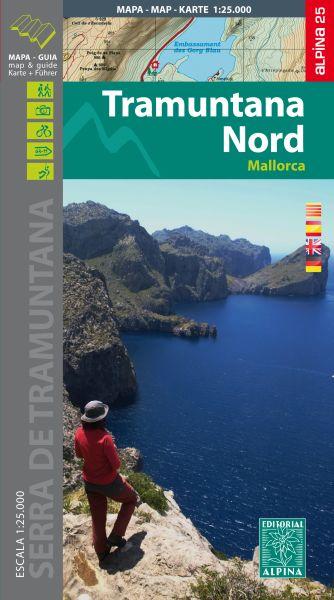 Mallorca: Tramuntana Nord Wanderkarte 1:25.000 - Editorial Alpina