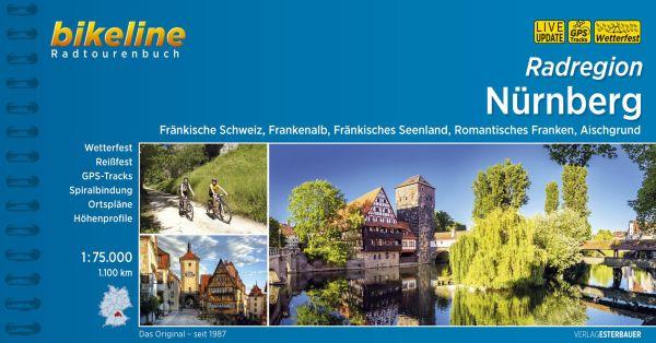 Nürnberg, Bikeline Radwanderführer mit Karte, Esterbauer