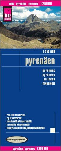 Pyrenäen Landkarte 1:250.000, Reise Know-How