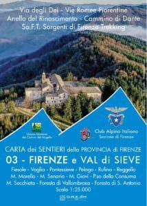 Provincia di Firenze Bl. 3 Firenze e Val di Sieve, 1:25.000, D.R.E.A.M