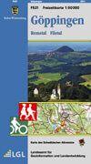 Freizeitkarte Blatt F521 Göppingen, 1:50.000