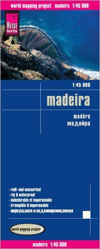 Madeira Landkarte 1:45.000, Reise Know-How