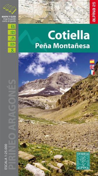 Cotiella - Pena Montanesa Wanderkarte 1:25.000 - Editorial Alpina