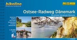 Ostsee-Radweg Dänemark, Bikeline Radwanderführer mit Karte, Esterbauer