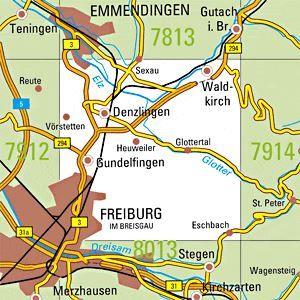 Freiburg Karte.7913 Freiburg Nordost Topographische Karte Baden Wurttemberg Tk25 1 25000