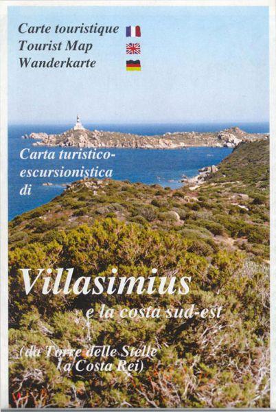 Sardinien Wanderkarte: Edizioni Abies: Villasimius 1:30.000