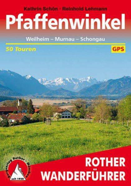 Pfaffenwinkel Wanderführer, Rother
