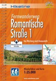 Romantische Straße Teil 1, Hikeline Wanderführer