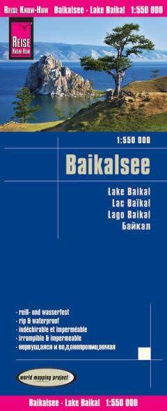 Russland: Baikalsee Landkarte 1:550.000, Reise Know-How
