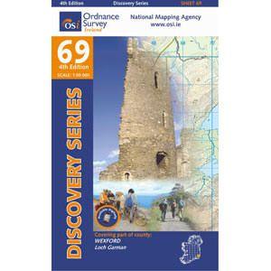 OSI 69 Wexford, Wanderkarte Ordnance, Survey Ireland