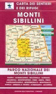 Edition Multigraphic 60/61, Monti Sibillini, Marken, 1:25.000