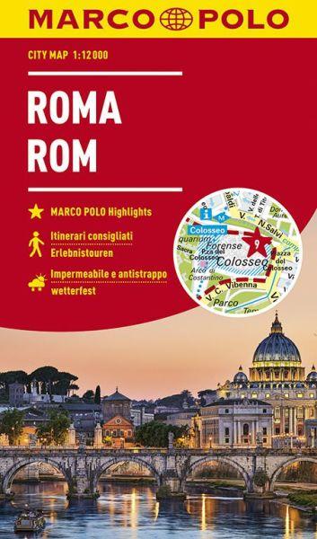 Marco Polo Citymap Rom