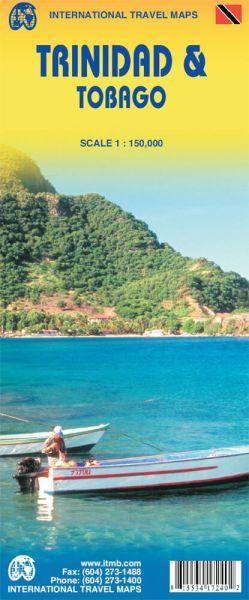 Trinidad & Tobago Landkarte 1:150.000, ITM