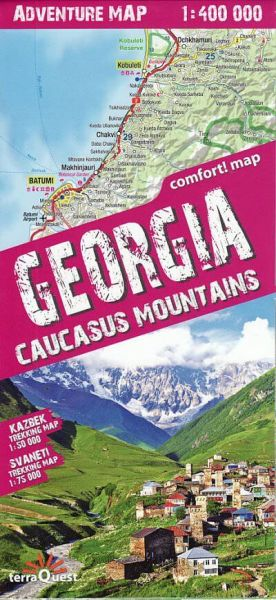 TerraQuest Georgia, Caucasus Mountains - Kazbek, Svaneti