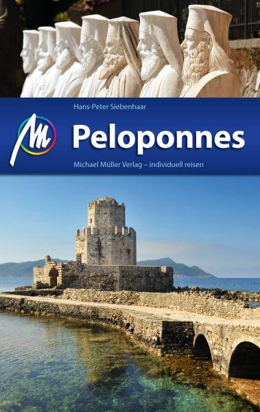 Peloponnes Reiseführer, Michael Müller