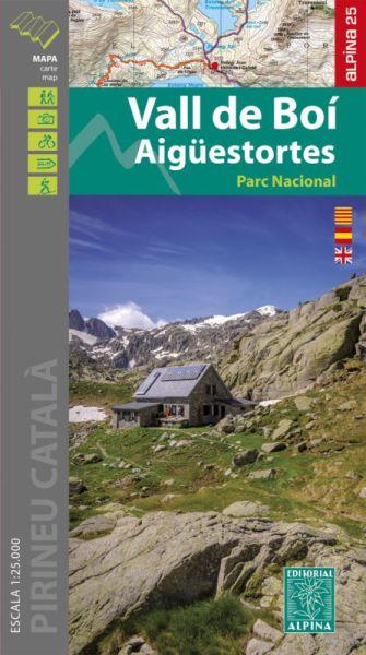 Vall de Boi Wanderkarte 1:25.000 - Editorial Alpina
