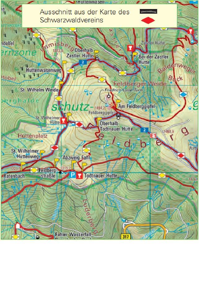 Schwäbische Alb Karte Städte.Kleine Landkartenkunde Wanderkarte Schwarzwaldverein Landesamt Für