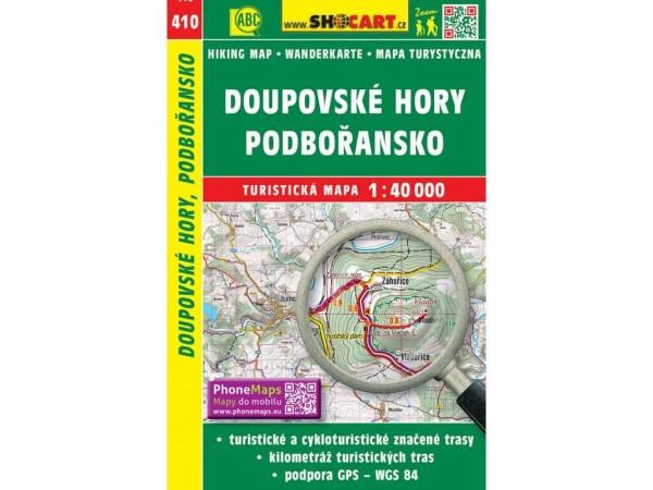 Doupovske hory / Duppauer Gebirge Wanderkarte 1:40.000 - SHOCart 410