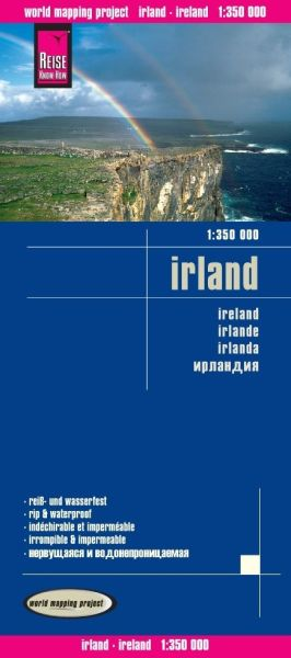 Irland Landkarte 1:350.000, Reise Know-How