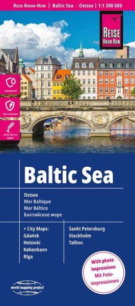 Ostsee Landkarte 1:1.300.000 - Reise Know-How