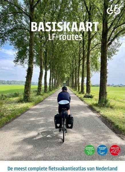 Radkartenset Niederlande 1:100.000 - Basiskaart fietsvakantieatlas von Landelijk Fietsplatform