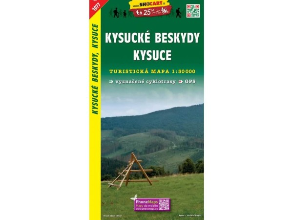 Kysucke-Beskiden, Kysuce Wanderkarte 1:50.000 - SHOCart 1077
