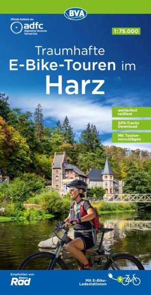 ADFC-Regionalkarte, Harz, Radwanderkarte