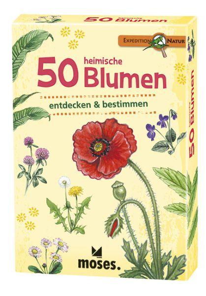 50 heimische Blumen entdecken und bestimmen, Moses Verlag