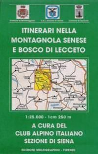 Edition Multigraphic 509, Montagnola Siena, Toskana, 1:25.000