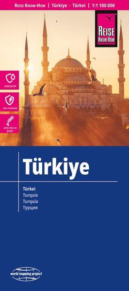 Türkei Landkarte 1:1.100.000, Reise Know-How